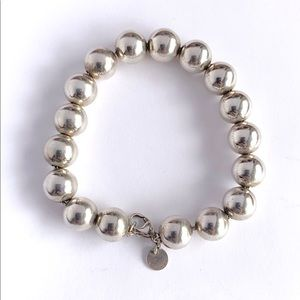 Authentic Tiffany & Co Sterling Ball Bead Bracelet